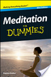 Cover of Meditation For Dummies®