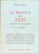 Cover of La pratica dello zen