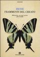 Cover of Frammenti del creato. Riflessioni, racconti, poesie sulle farfalle