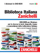 Cover of Biblioteca Italiana Zanichelli