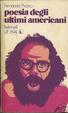 Cover of Poesia degli ultimi americani