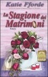 Cover of La stagione dei matrimoni