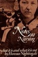 Cover of Notes on Nursing
