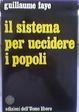 Cover of Il sistema per uccidere i popoli