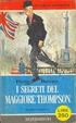 Cover of I segreti del maggiore Thompson