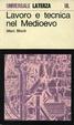 Cover of Lavoro e tecnica nel Medioevo