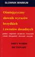 Cover of Słownik wyrazów brzydkich