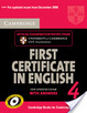 Cover of Cambridge First Certificate in English 4 for Updated Exam Student's Book with Answers