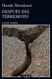 Cover of Después del terremoto