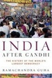 Cover of India After Gandhi