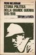 Cover of Storia politica della Grande guerra
