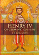 Cover of Henry IV of Germany, 1056-1106