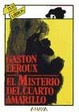 Cover of El Misterio Del Cuarto Amarillo
