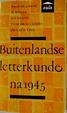 Cover of Buitenlandse letterkunde na 1945