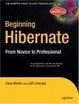 Cover of Beginning Hibernate
