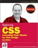 Cover of Beginning CSS