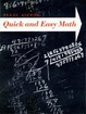 Cover of Quick and Easy Maths