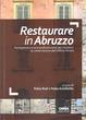 Cover of Restaurare in Abruzzo