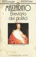 Cover of Breviario dei politici