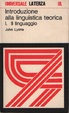 Cover of Introduzione alla linguistica teorica / Il linguaggio