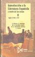 Cover of Introducción a la literatura española a través de los textos