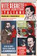 Cover of Vite segrete dei grandi scrittori italiani