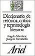 Cover of DICCIONARIO DE RETORICA, CRITICA Y TERMINOLOGIA LITERARIA