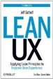 Cover of Lean UX