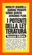 Cover of I potenti della letteratura
