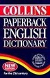 Cover of Collins Paperback English Dictionary