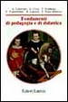 Cover of Fondamenti di pedagogia e di didattica