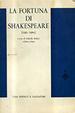 Cover of La fortuna di Shakespeare