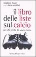 Cover of Il libro delle liste sul calcio