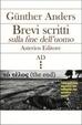 Cover of Brevi scritti sulla fine dell'uomo