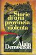 Cover of Storie di una provincia violenta