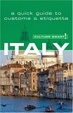 Cover of Italy - Culture Smart!