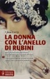 Cover of La donna con l'anello di rubini