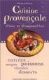 Cover of Cuisine provençale d'hier et d'aujourd'hui