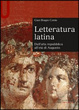 Cover of Letteratura latina. Dall'alta repubblica all'età di Augusto