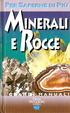 Cover of Minerali e rocce