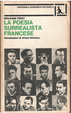 Cover of La poesia surrealista francese