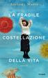 Cover of La fragile costellazione della vita