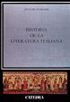 Cover of Historia de la literatura italiana