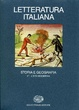 Cover of Letteratura italiana. Storia e geografia vol.2.2