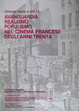Cover of Avanguardia , realismo , populismo nel cinema francese degli anni Trenta