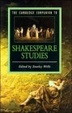 Cover of The Cambridge Companion to Shakespeare Studies