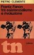 Cover of Frantz Fanon tra esistenzialismo e rivoluzione