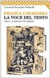 Cover of La voce del testo