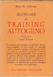 Cover of Manuale di training autogeno