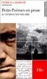 Cover of Petits poèmes en prose de Charles Baudelaire